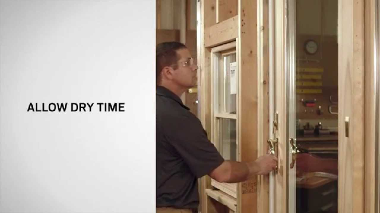 replacing the weatherstrip on frenchwood gliding patio doors andersen windows