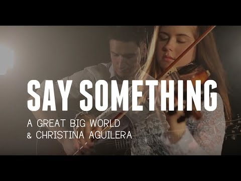 """Say Something"" - Cover Violin and Guitar - Ada Furmaniak ft. Marcin Cyzowski"