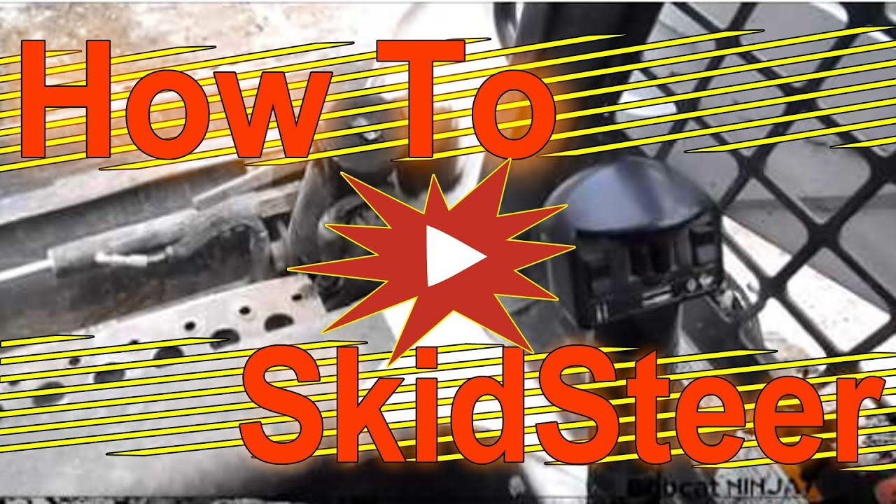 Skid Steer Controls Walkthrough  YouTube