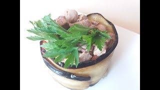 Шикарный салат из Баклажанов и печени трески / Салат з баклажанів та печінки тріски