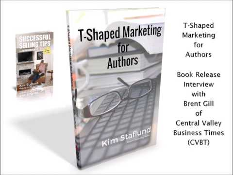 T-Shaped Marketing for Authors | Book Release Interview with Brent Gill