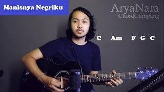 Chord Gampang (Manisnya Negriku - Pujiono) by Arya Nara (Tutorial Gitar) Untuk Pemula