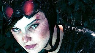 Batman Arkham Knight CATWOMAN Revenge Gameplay Cutscenes