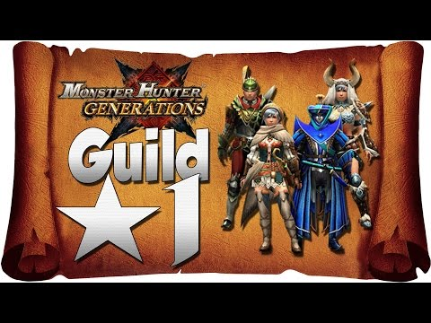 Monster Hunter Generations - Online [Guild★1]   Quests With Subscribers Part 1! [NEW Nintendo 3DS]