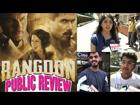 Rangoon Public Review | Shahid Kapoor, Saif Ali Khan and Kangana Ranaut