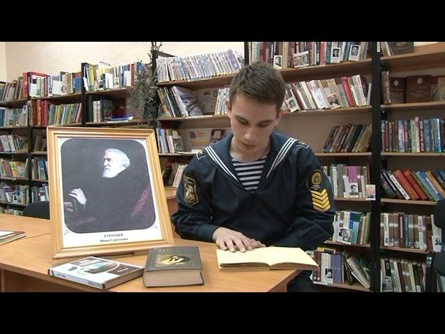 Изображение предпросмотра прочтения – ГригорийРоманов читает произведение «Дворянское гнездо» И.С.Тургенева