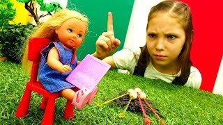 Видео про Барби - Интернет -зависимость Штеффи - Игрушки для девочек