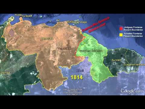 Conflicto Fronterizo Venezuela - Esequibo / Territorial Conflict Venezuela - Essequibo [IGEO.TV]