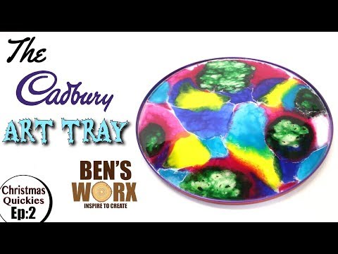 Resin Art - Making a serving tray