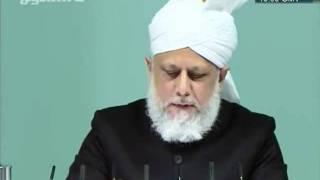 Urdu khutba juma 23rd December 2011, Tribute to Syed Abdul Hayi Shah sahib, Islam Ahmadiyya clip5