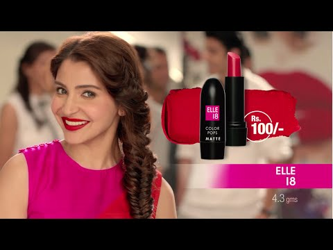 ELLE 18 - New Color Pops Matte Lipstick #Matteisin