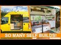 We Looked Around 30 AMAZING Self-Build Campervans - With TOURS! Camp Quirky 2017