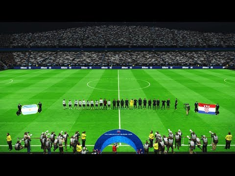 PES  ARGENTINA vs CROATIA  FIFA World Cup 2018  Full Match  amazing goals  Gameplay PC