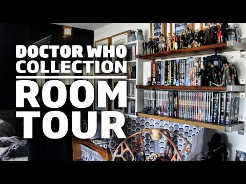 Doctor Who Collection + Room Tour 2017