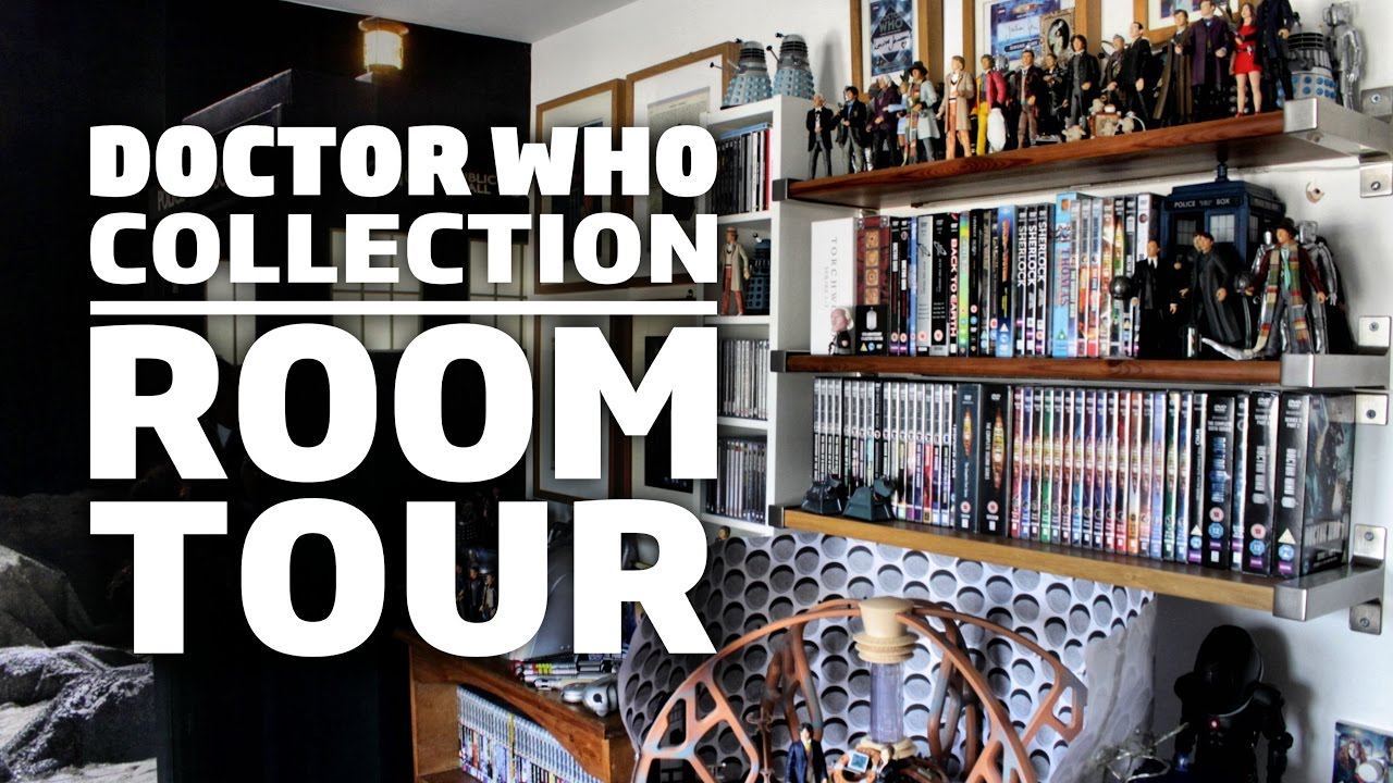 3d569812c17 Doctor Who Collection + Room Tour 2017 - YouTube