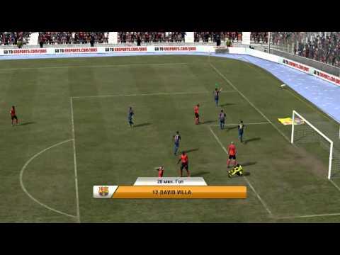 FIFA 12 (Барселона) карьера 1 часть