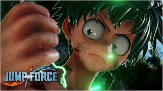 Deku Moveset - Awakening, Combos, Skills & Ultimate | Jump Force Gameplay