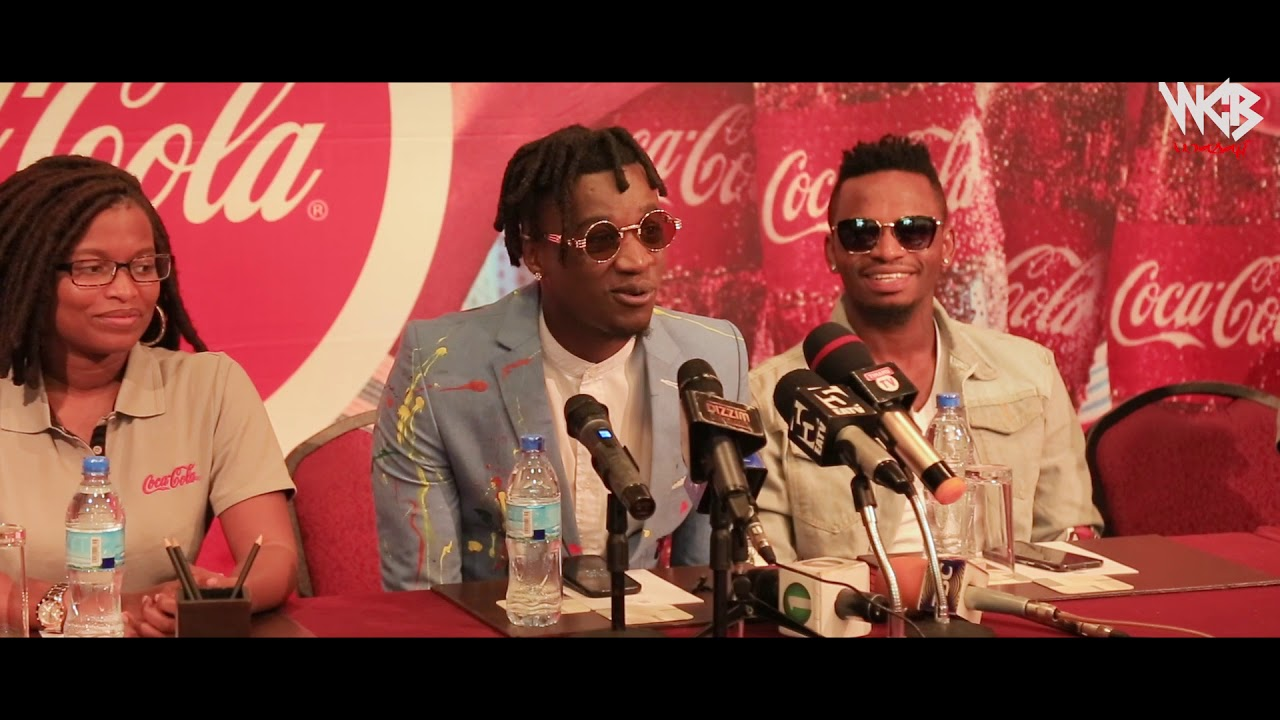 Diamond Platinumz/Coca - Cola, Launching COLORS The Official Anthem for WC18
