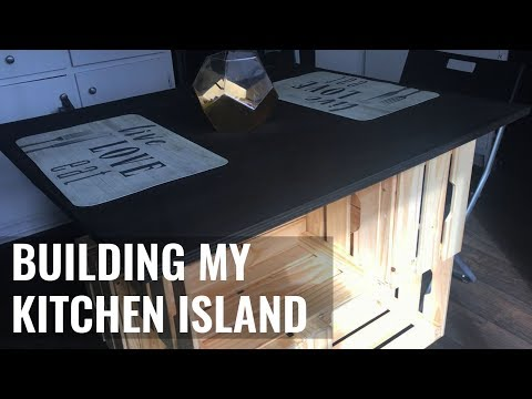 DIY KITCHEN ISLAND / KITCHEN TABLE