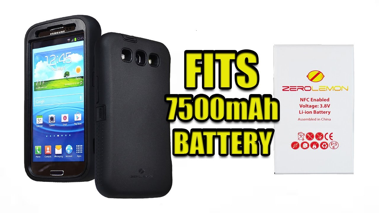 new style b06c4 0fe91 ZeroLemon Galaxy S4 Zero Shock Cases - Fits 7500mAh Extended Battery
