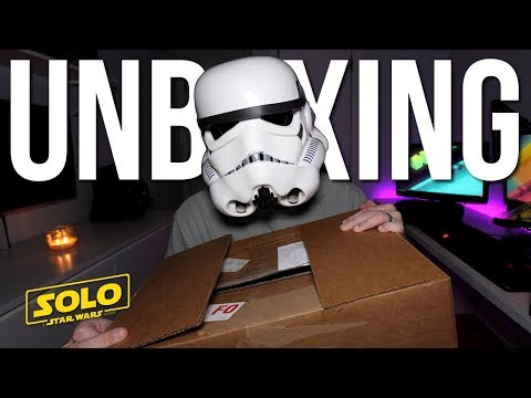 Unboxing Package from Lucasfilm - [Solo: A Star Wars Story]