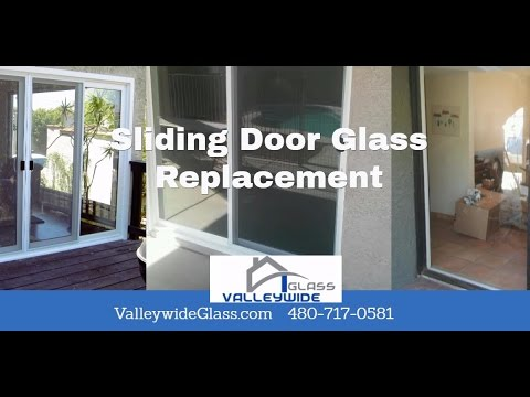 Phoenix Arcardia Sliding Door Glass Replacement and Repairs