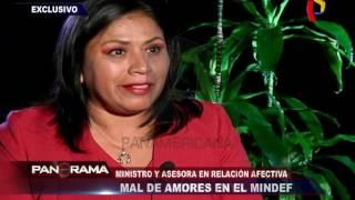 Mal de amores en el MINDEF: ministro y asesora en relación afectiva