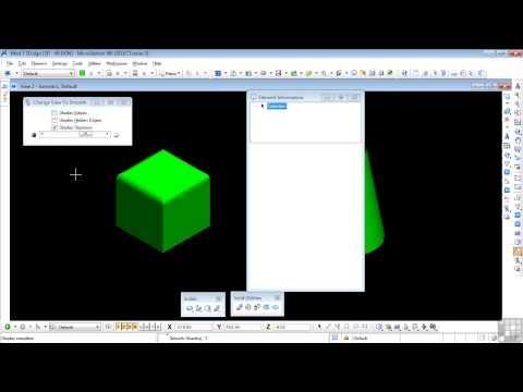 microstation v8i 3d tutorial pdf