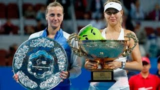 Sharapova VS Kvitova Highlight Beijing 2014 F