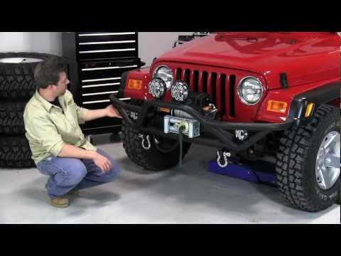 Quadratec QRC Bumpers for 87-06 Jeep Wrangler YJ and TJ