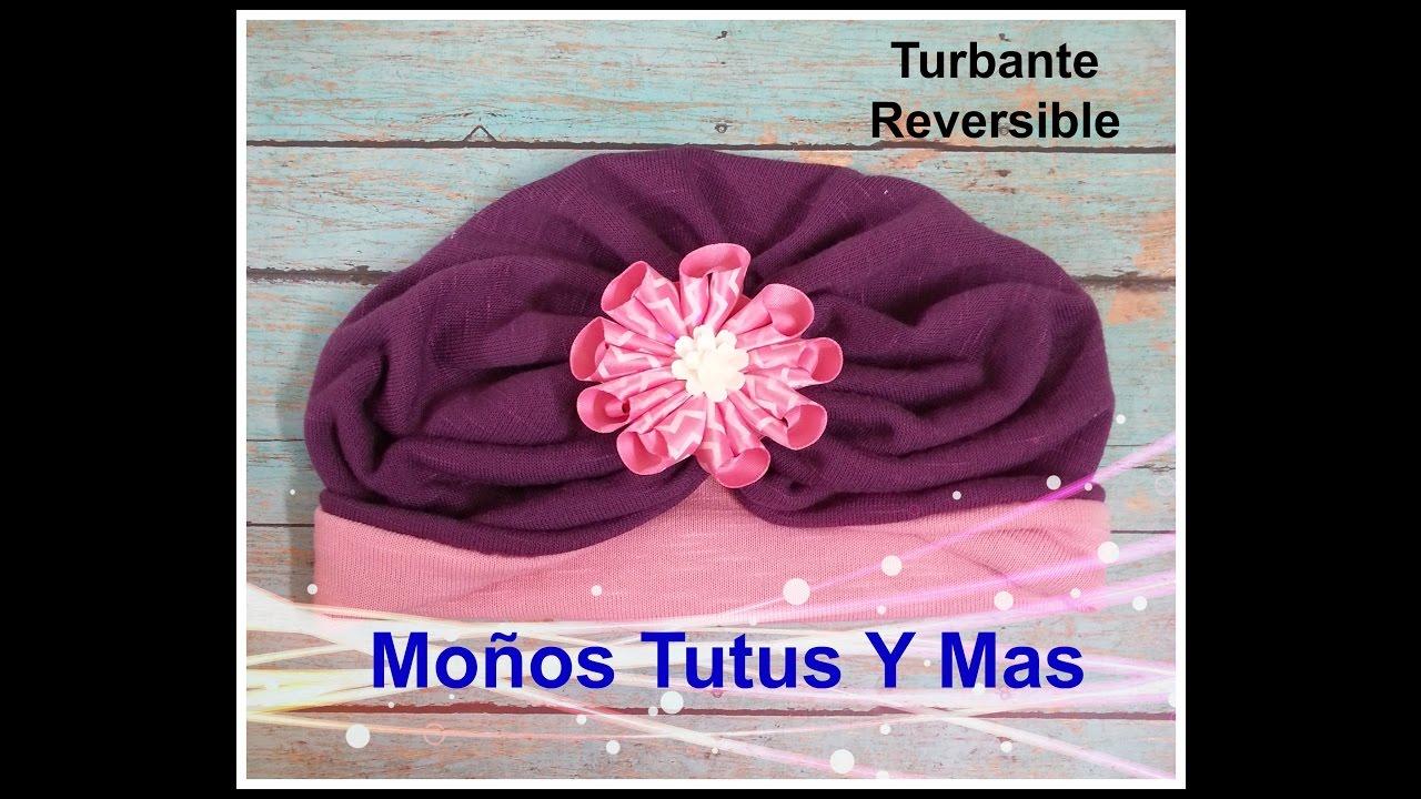 Turbante Reversible Paso A Paso Reversible Turban Tutorial Diy How To Pap Video 130