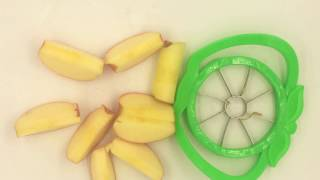 Plastic Stainless Steel Apple Cutter Kitchen Dining Tools