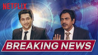 Nawazuddin Siddiqui Breaking News | Child Genius? | @Harsh Beniwal | Netflix India
