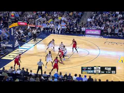 New Orleans Pelicans at Denver Nuggets - March 26, 2017
