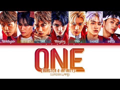 SuperM (슈퍼엠) 'One (Monster & Infinity)' Lyrics (Color Coded Lyrics)