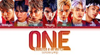 Download lagu SuperM (슈퍼엠) 'One (Monster & Infinity)' Lyrics (Color Coded Lyrics)