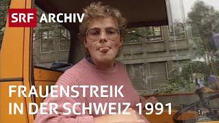 Frauenstreik 1991 Schweiz | Frauenstreiktag vom 14. Juni 1991 | SRF Archiv
