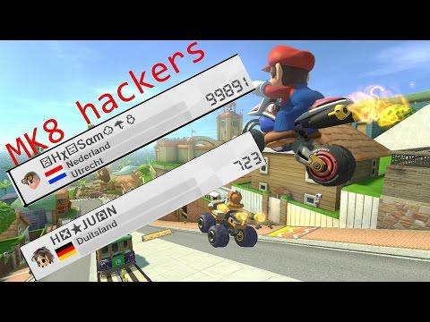mario kart 8 speed hackers lobby!!!