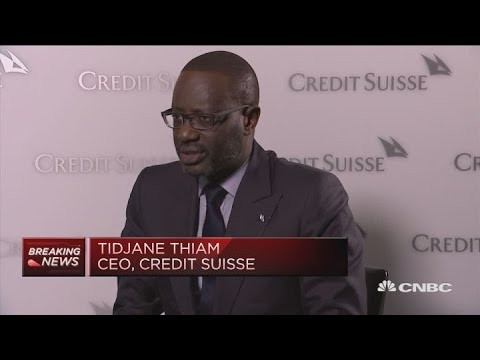 Credit Suisse reduced costs to insulate profit from volatile economy, CEO says   Squawk Box Europe