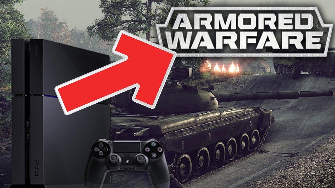 CZOŁGI NA KONSOLI PS4 – Armored Warfare
