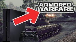 CZOŁGI NA KONSOLI PS4 - Armored Warfare