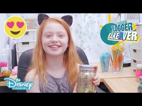 Vlogger Takeover | How to Make Ruby's Secrets Jar! | Disney Channel UK