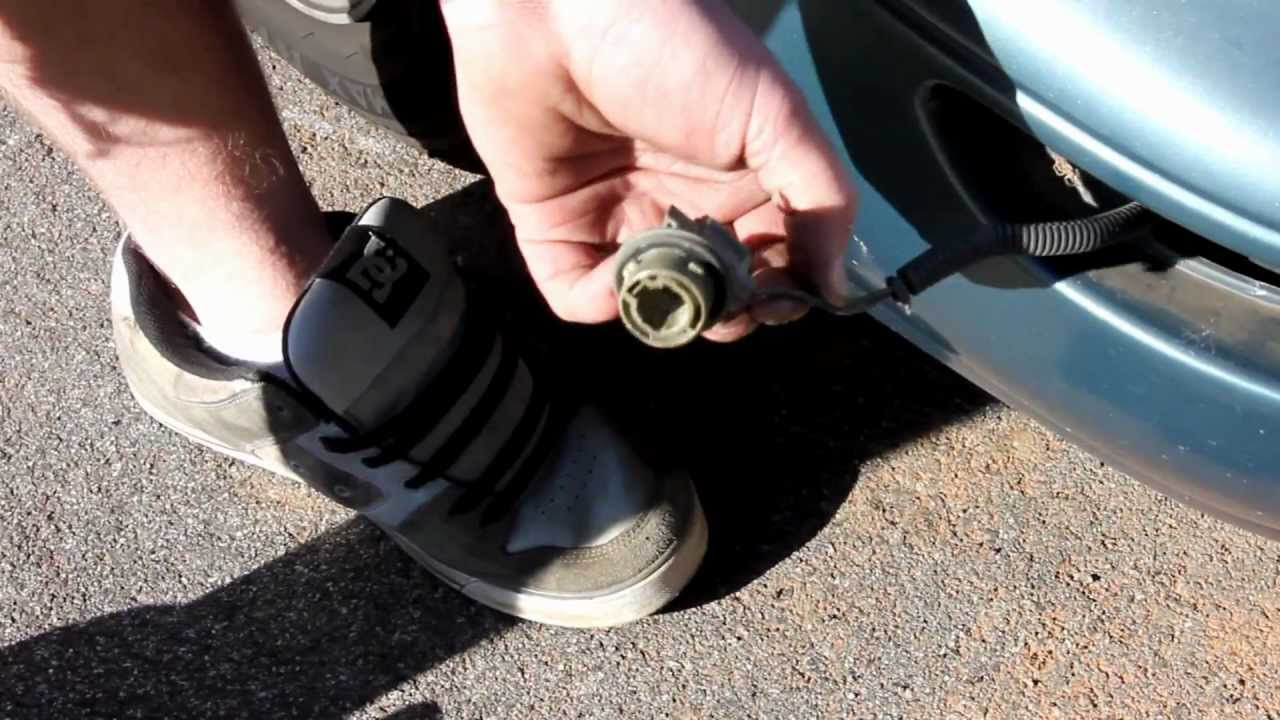 How To Replace Front Turn Signal Corolla U0026 Fix Bulb Wiring 93 97   YouTube