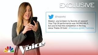 The Top 8 Read Fan Tweets - The Voice 2019 (Digital Exclusive)