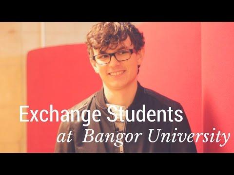Exchange Students at Bangor University