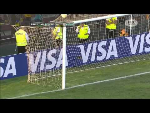Palestino 0 - 2 Boca - Fase de Grupos Copa Libertadores 2015