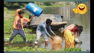 Very Funny Stupid Boys_Top Comedy Video 2020_Try Not To Laugh_Episode 62_By Fun Ki Vines