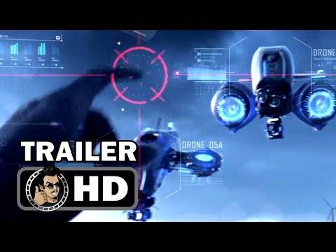 KILL SWITCH Official Trailer (2017) Dan Stevens, Berenice Marlohe Sci-Fi Action Movie HD streaming vf