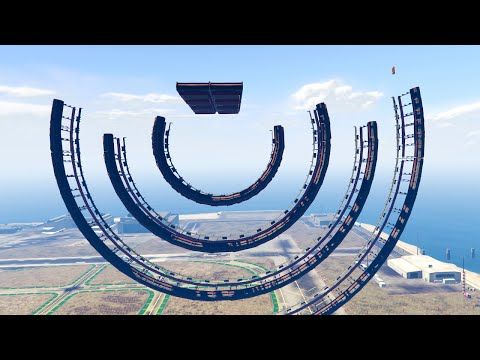ULTIMATE IMPOSSIBLE RAMP RACE! (GTA 5 Funny Moments)