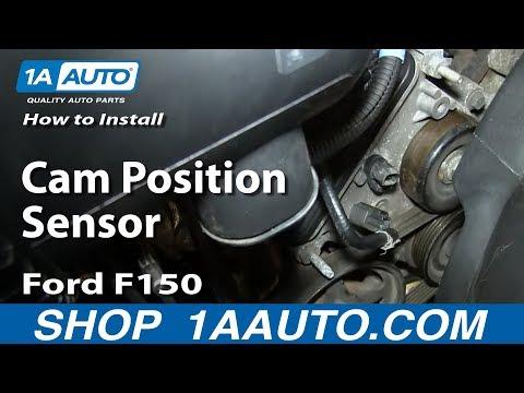 How To Replace Cam Position Sensor 4 6L V8 Ford F150 | 1A Auto